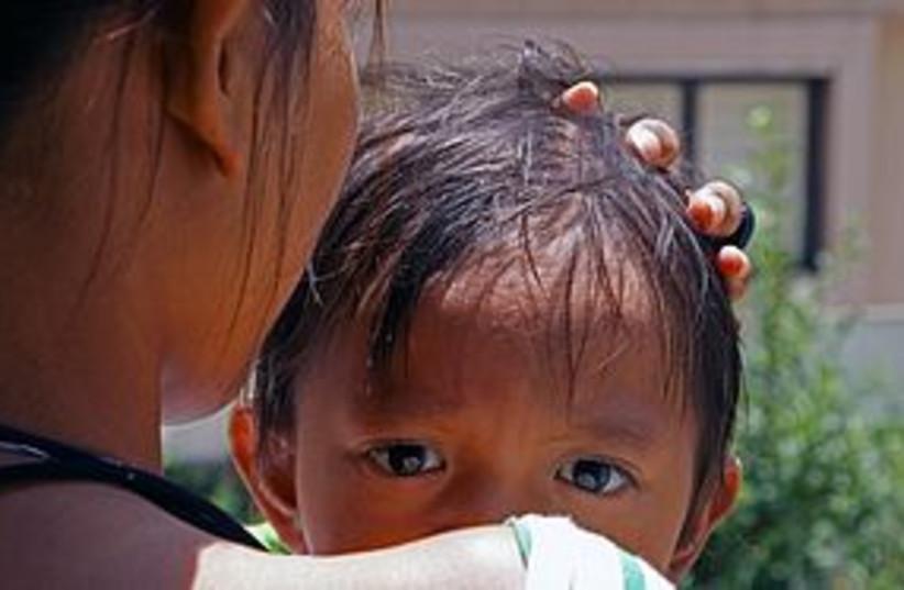 indonesian baby 311 (photo credit: Efrat Nakash)