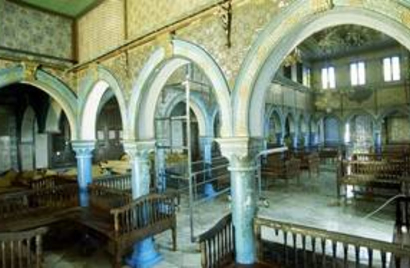The El Ghriba synagogue in Tunisia 311 (R) (photo credit: Mohamed Hammi / Reuters)