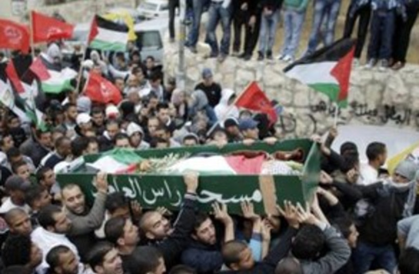 Funeral of Palestinian boy killed in east Jerualem 311 (photo credit: REUTERS/Ammar Awad)