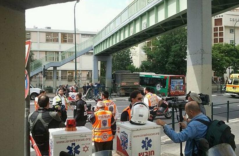 Road attack in south Tel Aviv on Nakba Day