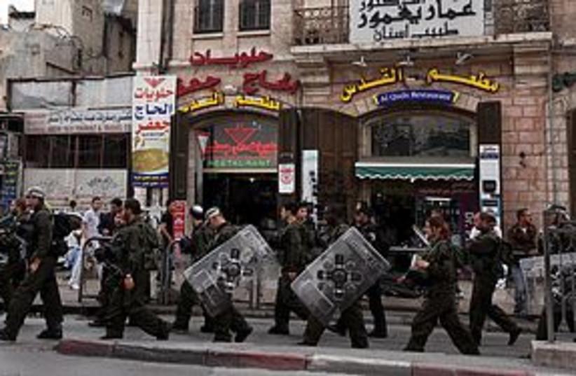 nakba day damascus gate 311 (photo credit: Marc Israel Sellem/The Jerusalem Post)