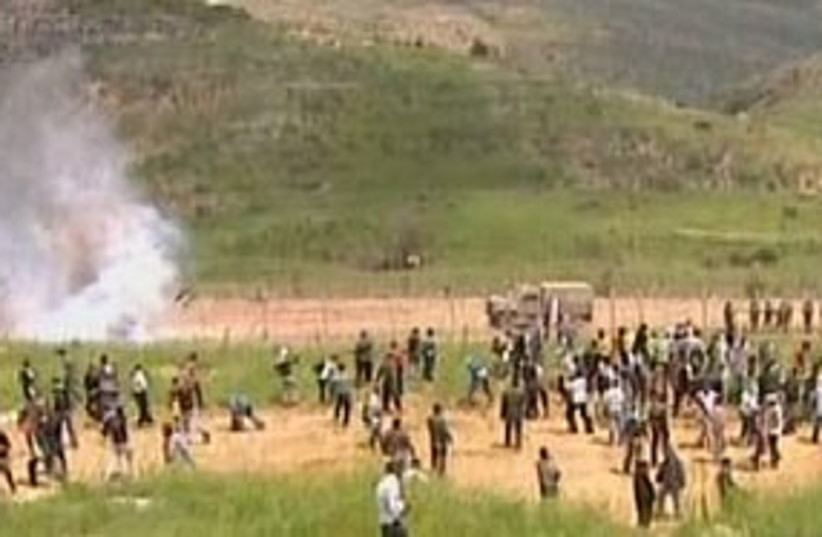 majdal shams nakba day 311 (photo credit: Channel 10)
