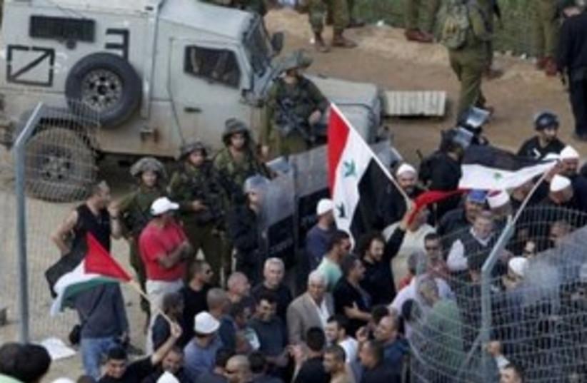 Syrian Infiltrators 311 (photo credit: REUTERS)