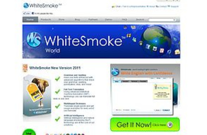 Whitesmoke 311 (photo credit: screen shot)