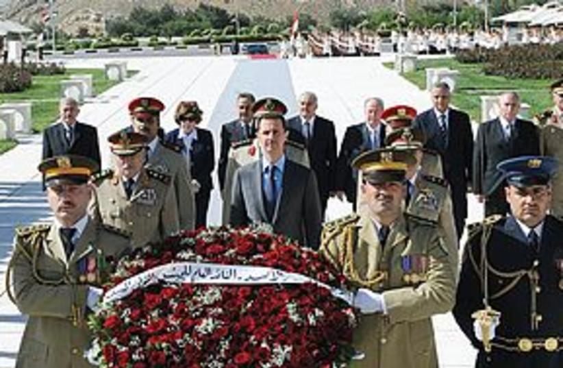 Assad 311 (photo credit: REUTERS)