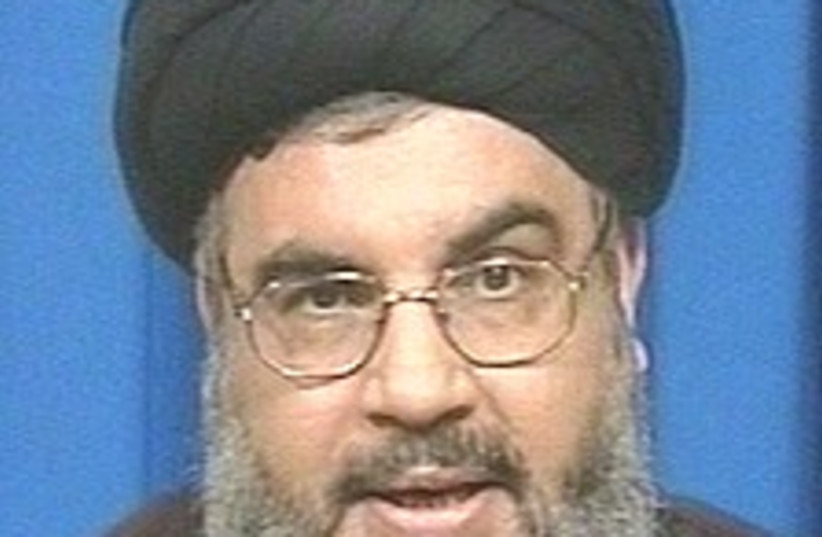 Nasrallah 224.88 (photo credit: Channel 1 [file])