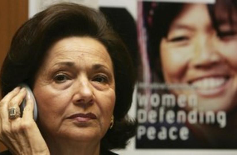 Suzanne Mubarak_311 (photo credit: Reuters)