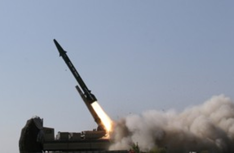 Iranian ballistic missile_311 reuters (photo credit: Ho New / Reuters)