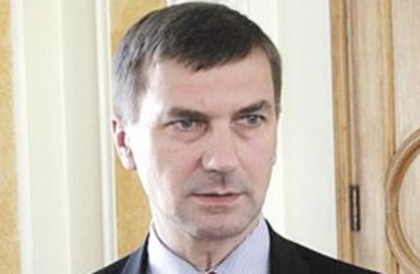 Estonian Prime Minister Ansip_311 (photo credit: Courtesy)