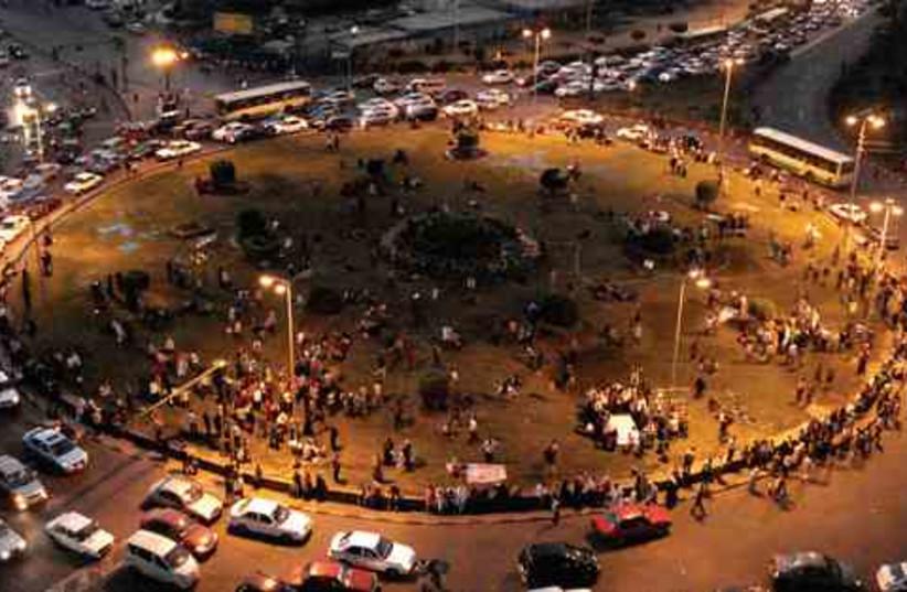 Tahrir Square (photo credit: Sam Kestenbaum)