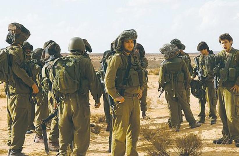 IDF lone soldiers 521 (photo credit: Marc Israel Sellem)