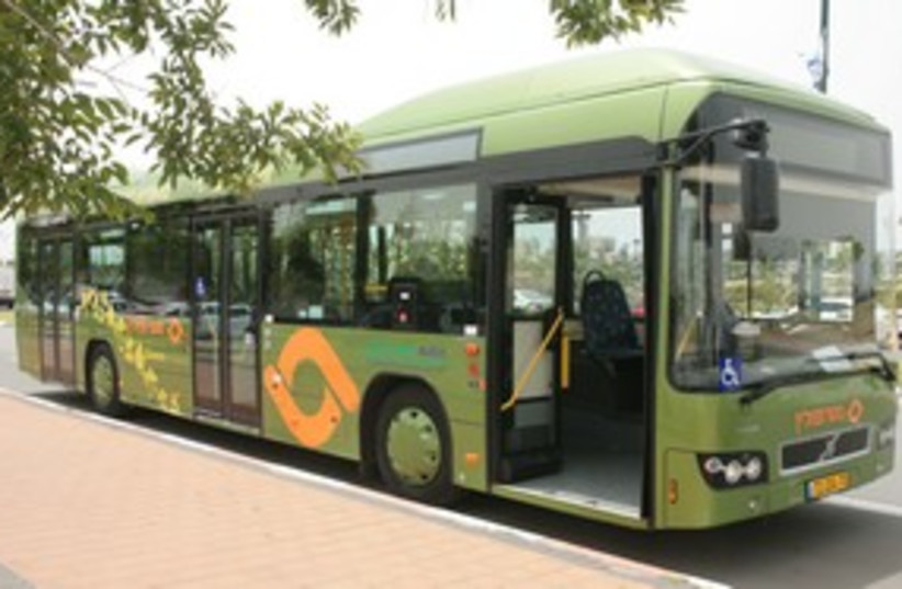 Hybrid Bus 311 (photo credit: gali amoyal)