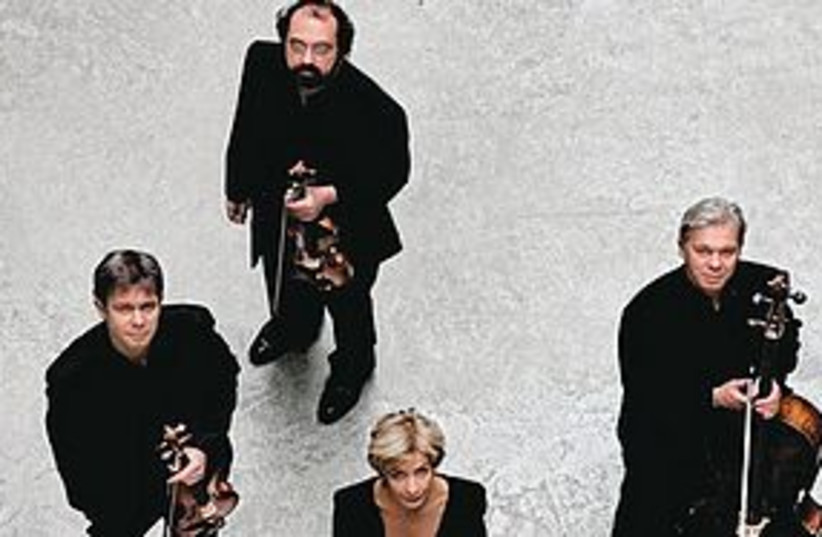 Hagen Quartet 311 (photo credit: courtesy)