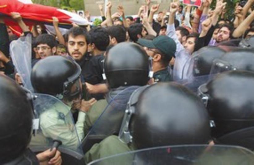 Iran Tehran Protest_311 (photo credit: Reuters)