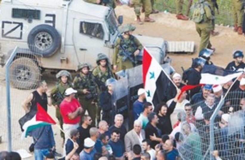 Syria Border Breach 311 (photo credit: REUTERS)