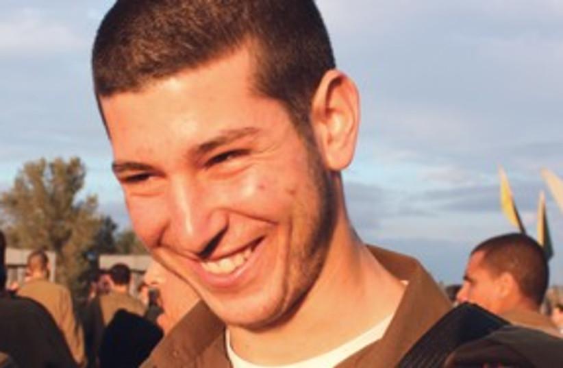 NIOT WATZMAN: A proud soldier in Golani 311 (photo credit: HAIM WATZMAN)