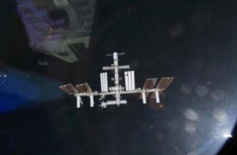 International Space Station 311 (photo credit: REUTERS/NASA/Handout )