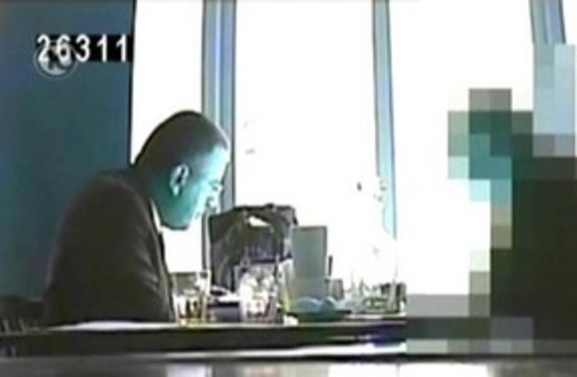 Russian footage of Col. Vadim Leiderman 311 (photo credit: Channel 10)