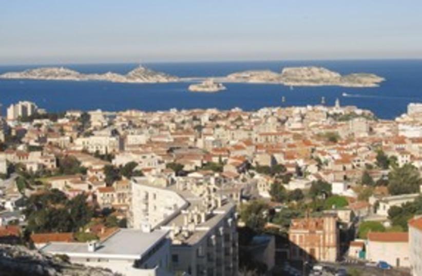View of Marseilles from Notre Dame de la Gard 311 (photo credit: Melanie Lidman)