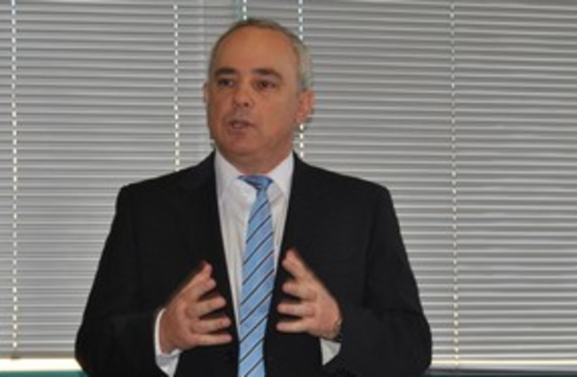 Finance Minister Yuval Steinitz 311 (photo credit: Courtesy: Ministry of Finance spokesperson)