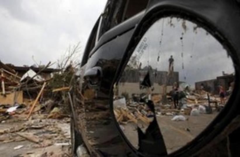 Missouri Tornado 311 (photo credit: REUTERS)