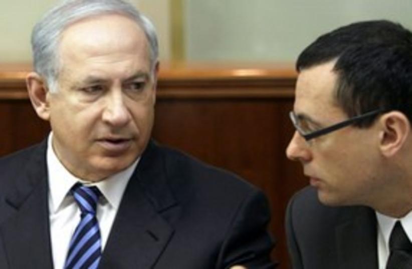 Hauser Netanyahu 311 (photo credit: REUTERS)