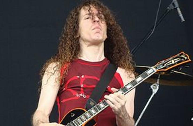 Marty Friedman Megadeth 311 (photo credit: courtesy)