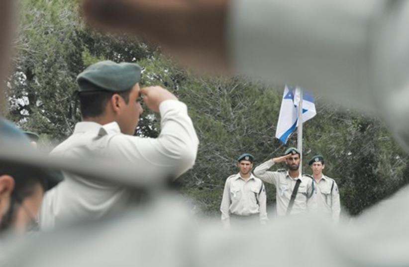 soldier salute_521 (photo credit: Marc Israel Sellem)