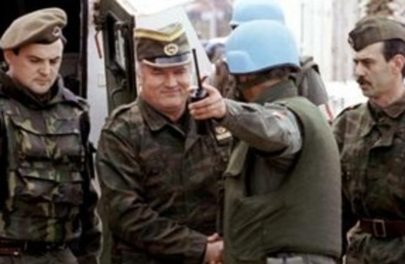 Mladic 311 (photo credit: REUTERS)