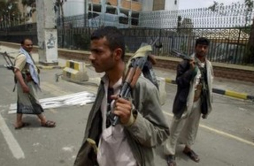 Yemen tribesmen 311 (photo credit: REUTERS)