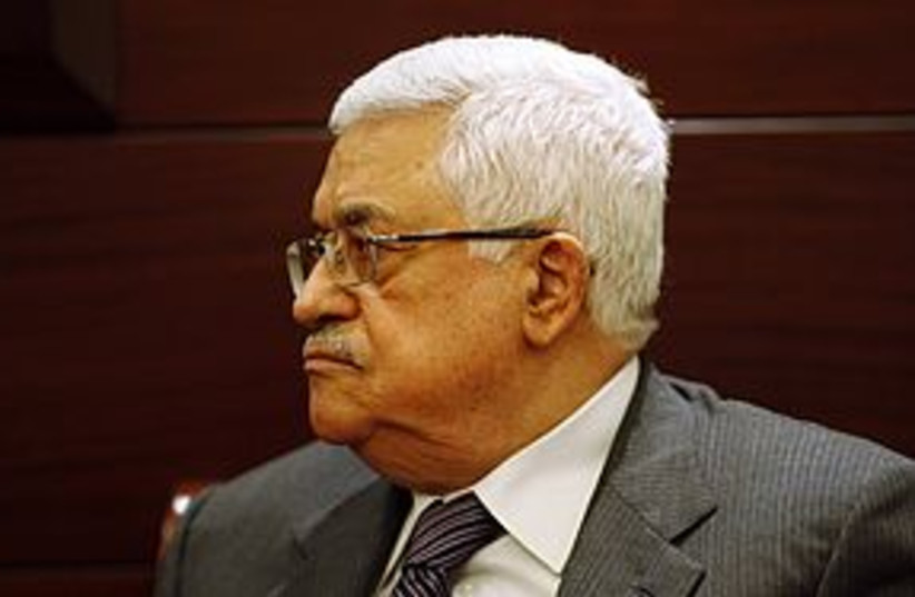 Abbas 311 (photo credit: REUTERS)