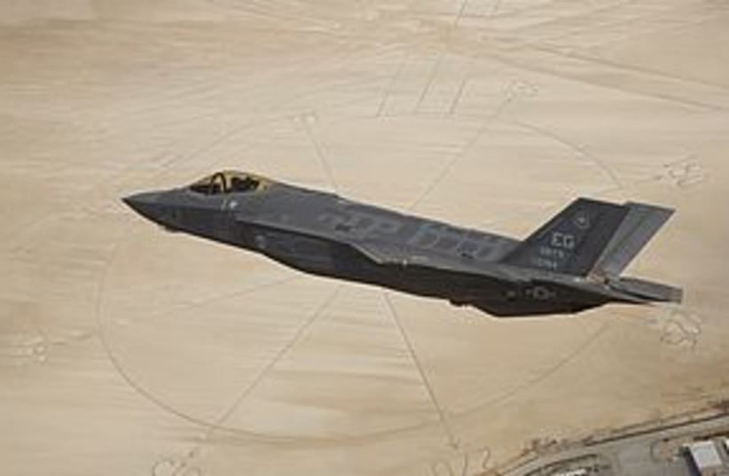 F 35 fighter jet 311 (photo credit: REUTERS)