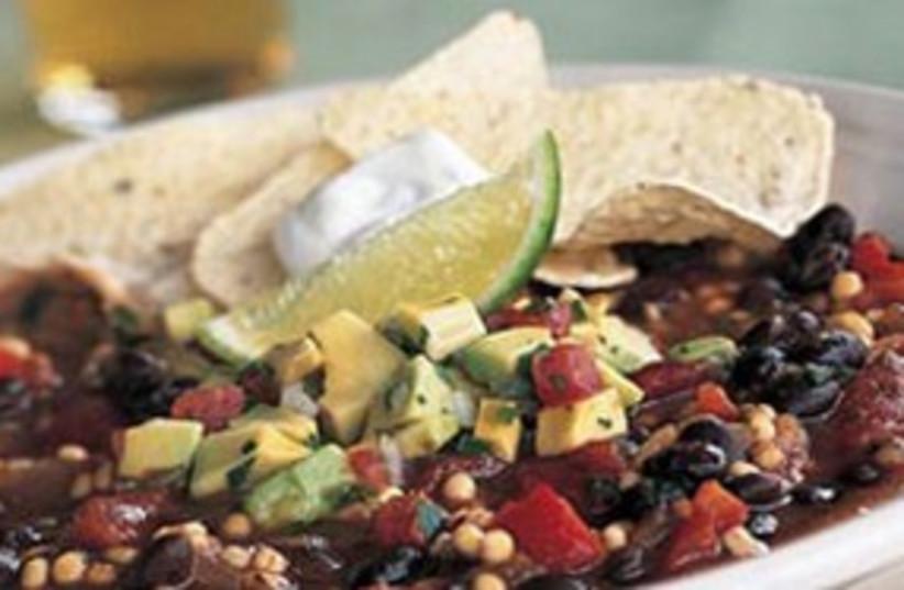 Vegetable chili 311 (photo credit: myrecipes.com)
