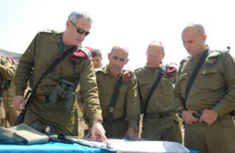 Benny Gantz 311 (photo credit: IDF Spokesperson)