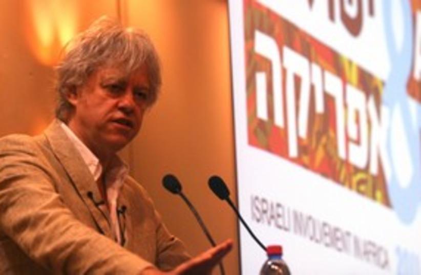 Bob Geldof 311 (photo credit: Shimi Nachtailer)