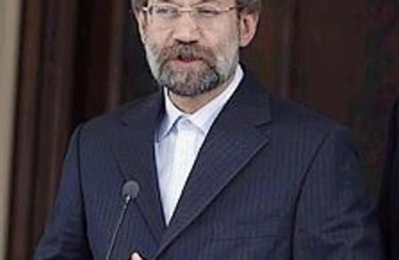 Larijani 224.88 ap (photo credit: AP [file])