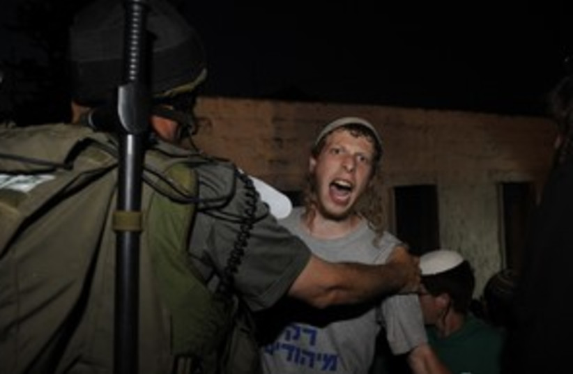 Nablus infiltrator_311 (photo credit: IDF Spokesperson)