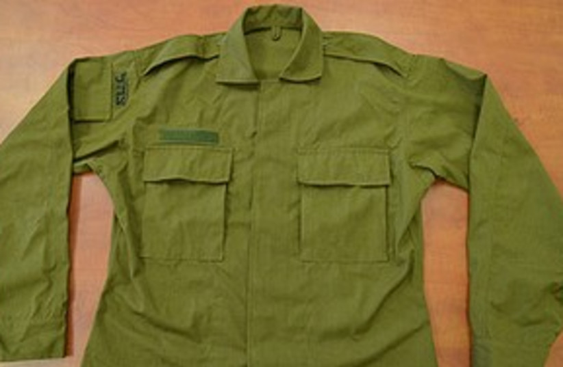 New IDF Uniform 311 (photo credit: IDF)