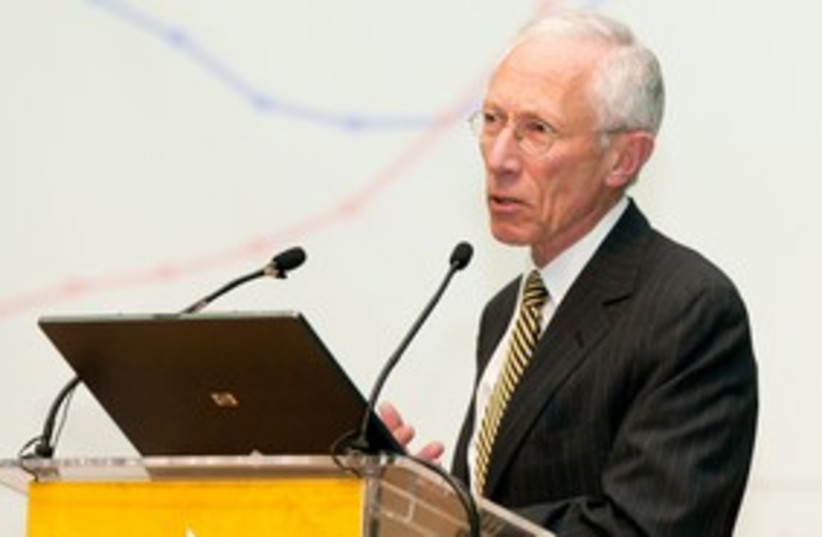 Stanley Fischer speech at BGU 311 (photo credit: Dani Machlis/BGU)