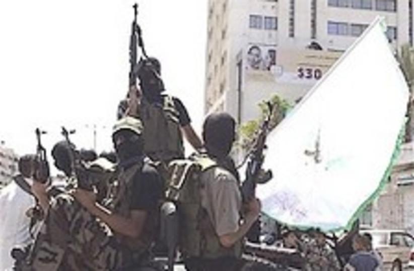 Hamas gunmen 224.88 (photo credit: AP [file])