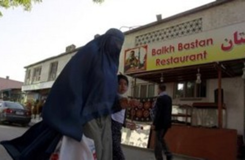 A restaurant in Kabul synagogue Afghanistan 311 (R) (photo credit: REUTERS/Omar Sobhani)