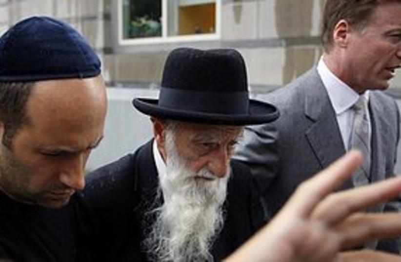 rabbi saul kassin arrest 311 (photo credit: REUTERS)