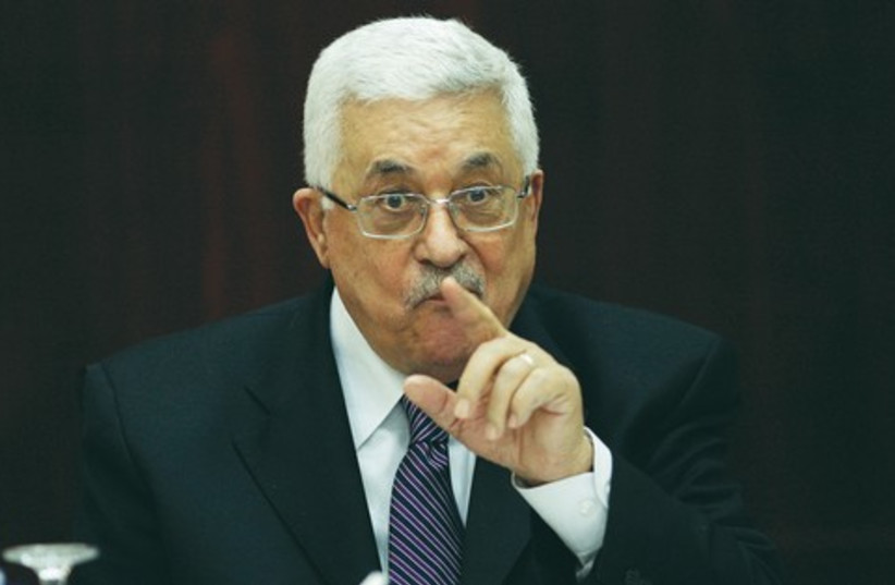 Mahmoud Abbas_521 (photo credit: REUTERS)
