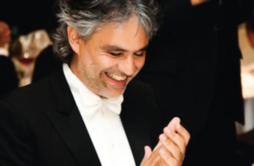 Composer Adrea Bocelli (photo credit: Courtesy)