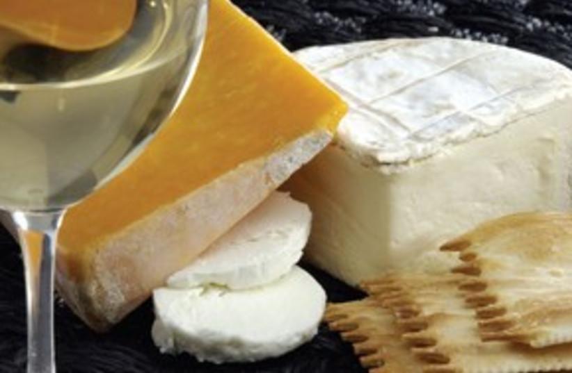 wine and cheese 311 (photo credit: MCT)