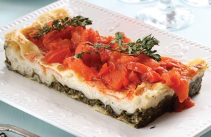 Spinich lasagne 311 (photo credit: Kfir Harrabi)