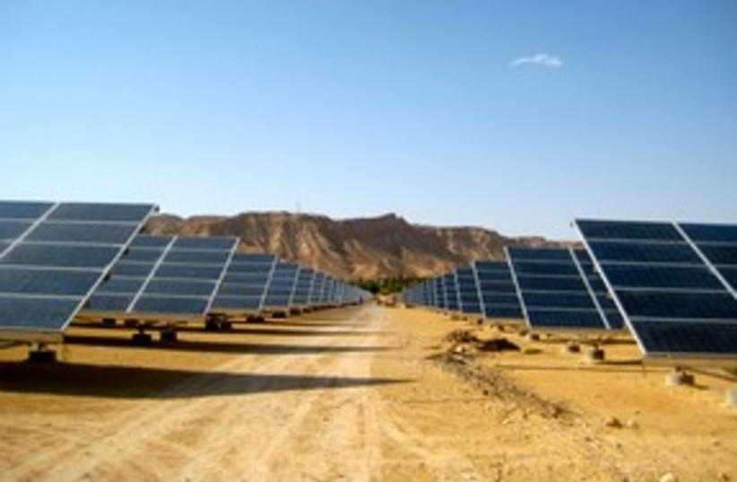 Arava Solar Field 311 (photo credit: Sharon Udasin)