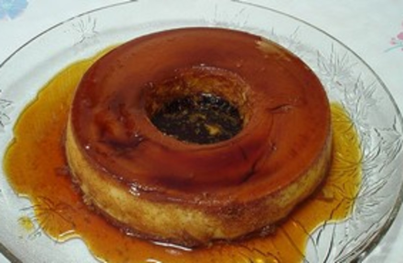 Condensed milk flan311 (photo credit: Wiki Commons)