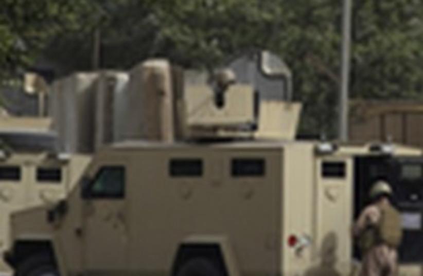 Five U.S. Service Members Killed in Central-Iraq 311 R (photo credit: Reuters)