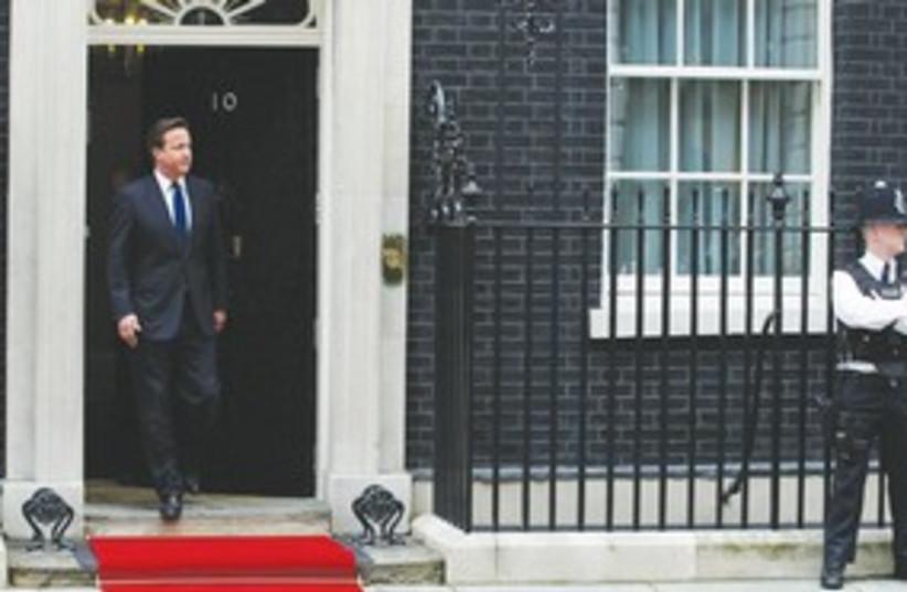 British Prime Minister David Cameron 311 (R) (photo credit: REUTERS)